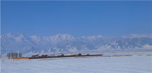 【景点】三月雪后大美祁连山